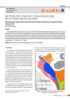 Đặc trưng vật lý, thạch học của đá chứa pliocene khu vực trung tâm bể Sông Hồng