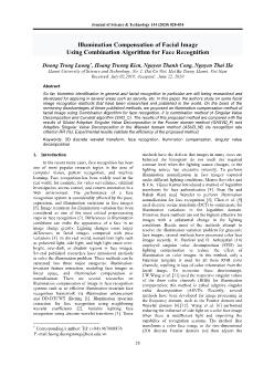 Illumination compensation of facial image using combination algorithm for face recognition