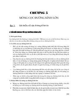 Giáo trình Nền móng cầu đường - Chương 5 đến Chương 7