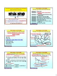 Giáo trình Thủy năng-Thủy điện - Chương 2: Tài nguyên nước và quy hoạch khai thác - Nguyễn Thống