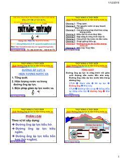 Giáo trình Thủy năng-Thủy điện - Chương 8: Đường ống áp lực và hiện tượng nước va - Nguyễn Thống