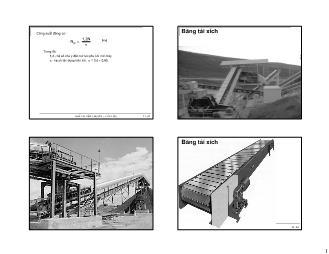 Giáo trình Vật liệu Silicat - Chương 12: Băng tải xích